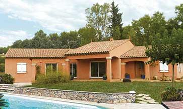 Construction de maisons en brique saint rapha l dans le var - Maison de la mediterranee ...