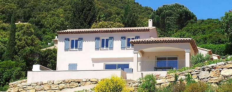 Villas m diterran e constructeur de maison individuelle for Constructeur de maison contemporaine dans le var